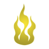 Clipart Yellow Fire image #15108