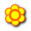 Yellow Flower Icon image #34267