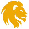 Yellow Lion Head image #37125