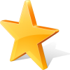 Yellow Star Favorite Icon image #39689