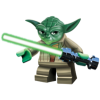 Yoda Lego Star Wars Characters  Clipart image #46634