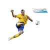 Zlatan Ibrahimovic, Yellow Tshirt, Football image #41058