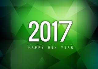 2017 Happy New Year Abstract Wallpaper PNG images