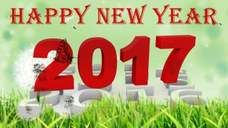 2017 Happy New Year Background PNG images