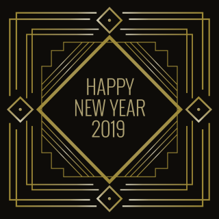 Art Decoration 2019 Happy New Year PNG images