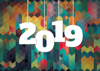 Background 2019 Happy New Year PNG images