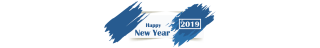Banner Happy New Year 2019 Picture PNG images