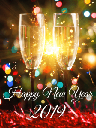 Card New Year Best 2019 Happy New Year PNG images