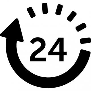 Size Icon 24 Hours PNG images