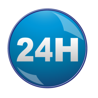 24 Hours Save Icon Format PNG images