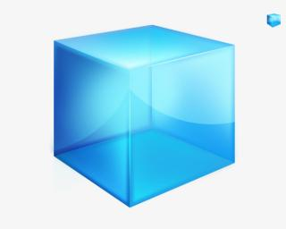 Blue Box 3D Cube Picture Download PNG images