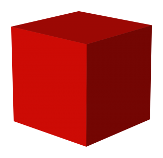 Red Box Png, 3D Cube Picture PNG images