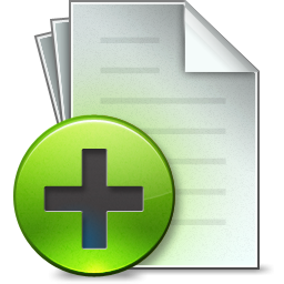 Document Add Icon PNG images