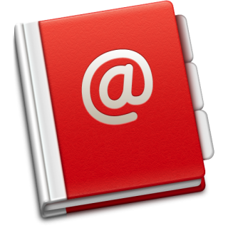 Address Book Icon | Soda Red Iconset | TrySoda PNG images