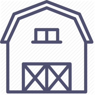 Agriculture, Barn, Building, Farm, Storage, Storehouse, Village Icon PNG images