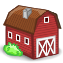 Cartoon Animal Farm Icon PNG images