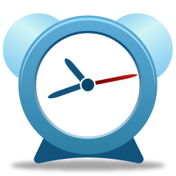 Red Alarm Clock Icon Png Transparent Background Free Download 8161 Freeiconspng