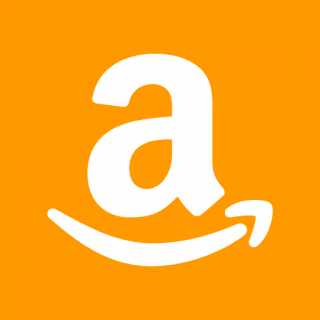 Orange Background Amazon Icon PNG images