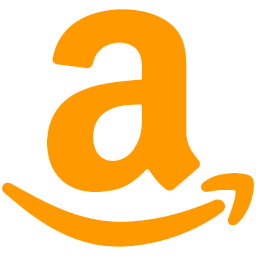 Orange Amazon Icon PNG images