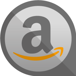 Circle Grey Amazon Icon PNG images