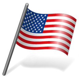 Windows American Us Flag Icons For PNG images