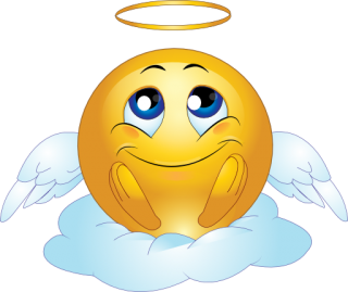 Angel Male Smiley Emoticon PNG images