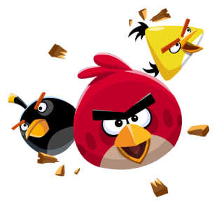 Angry Birds Flying Transparent PNG PNG images