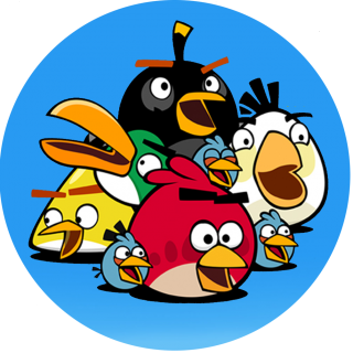 Angry Birds Family PNG images
