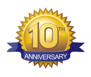 10 Anniversary Icon PNG images