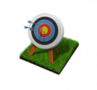 Vector Archery Icon PNG images