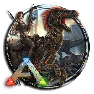 Round ARK Survival Evolved Icon PNG images