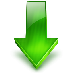 Green Arrow Down Icon Png PNG images