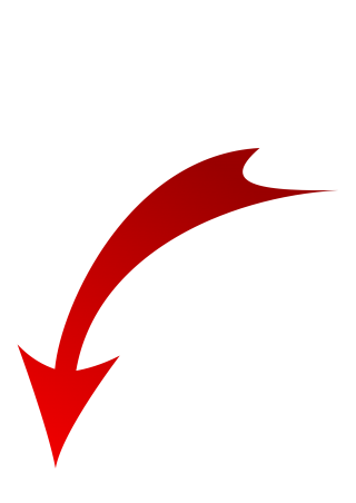 Red Arrow Down Png PNG images