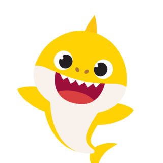 Happy Baby Shark Png Transparent Background PNG images