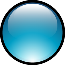 Aqua Ball Icon PNG images
