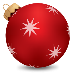 Christmas Ball Red Icon PNG images