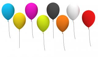 Ballons Party Icon PNG images