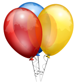 Drawing Balloons Icon PNG images