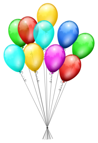 Svg Icon Balloons PNG images