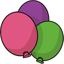 Balloons Save Icon Format PNG images