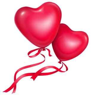 Heart Balloons Icon PNG images