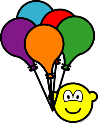 Party Balloons Buddy Icon PNG images