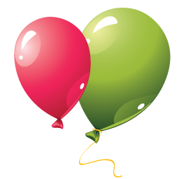 Party Balloons Icon PNG images