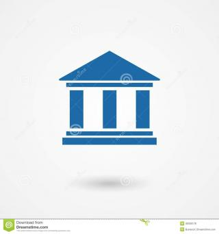Bank Icon Drawing PNG images