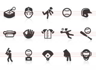 0123 Baseball Icons | Free Images At Clkerm Vector Clip Art PNG images