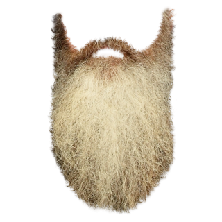 Simple Brown Beard Png PNG images
