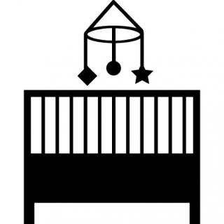 Baby Crib Bedroom Icon PNG images
