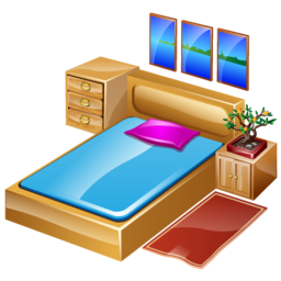 Svg Bedroom Icon PNG images