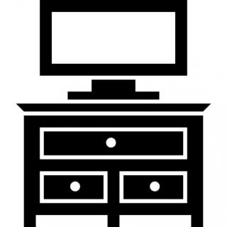 Bedroom, Television, Tv, Furniture, Drawer Icon PNG images