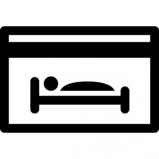 Hotel, Bed, Bedroom Icon PNG images